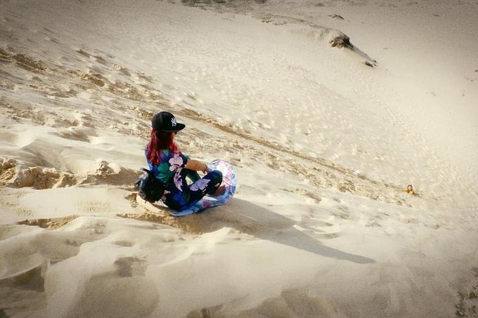 Kết quả hình ảnh cho Cồn cát Quang Phú