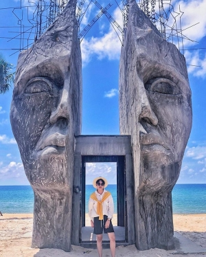 Bãi biển Việt Nam mà check in cứ ngỡ ở Bali