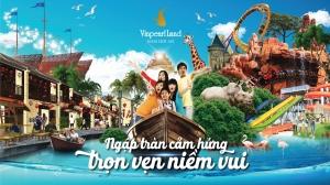 Thông tin chính thức về khu du lịch Vinpearl Land Hội An